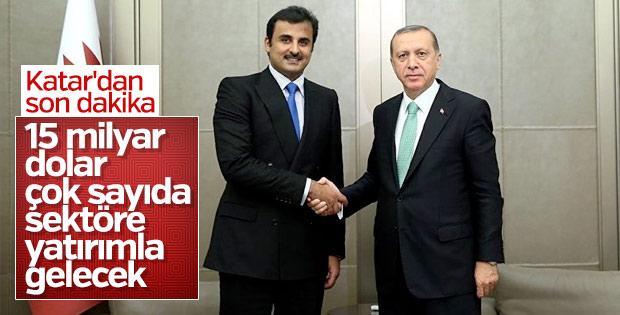 Katar'dan Türkiye'ye destek mesajı