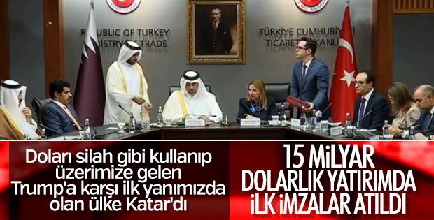 Türkiye ile Katar arasında ticaret anlaşması imzalandı