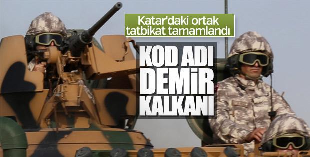 Türkiye-Katar askeri tatbikatı sona erdi