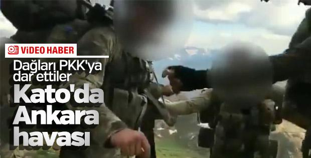 Kato Dağı'nda Ankara havası