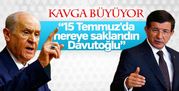 MHP'den Ahmet Davutoğlu'na bir tepki daha