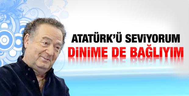 Kayahan: Hem Atatürk'ü seviyorum hem dinime bağlıyım