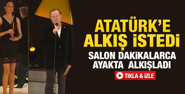 Kayahan'ın ayakta alkışlanan konuşması - Video