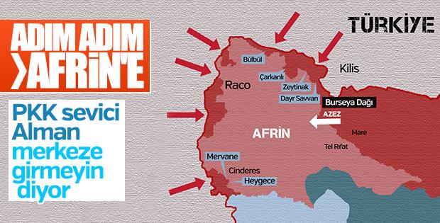 Almanya TSK'nın Afrin operasyonundan kaygılı