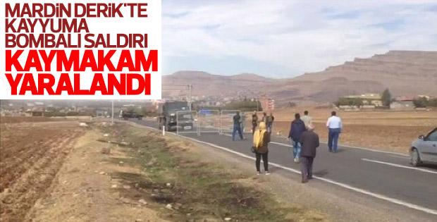 Mardin'de kaymakamlık konutuna saldırı
