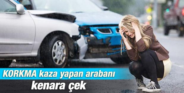 Sigortacılardan kazazedelere uyarı: Arabanı kenara çek
