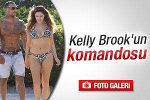 Kelly Brook'un komandosu