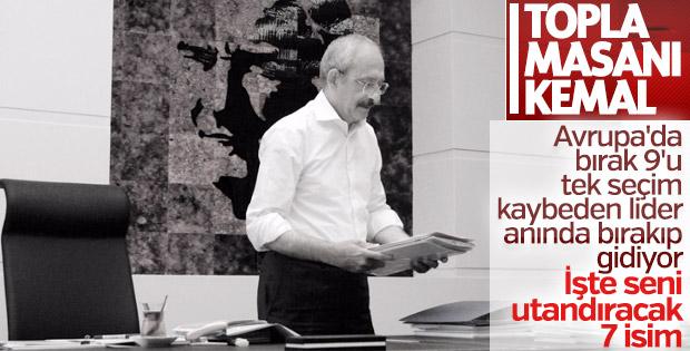 Sürekli yenilip istifa etmeyen lider: Kemal Kılıçdaroğlu