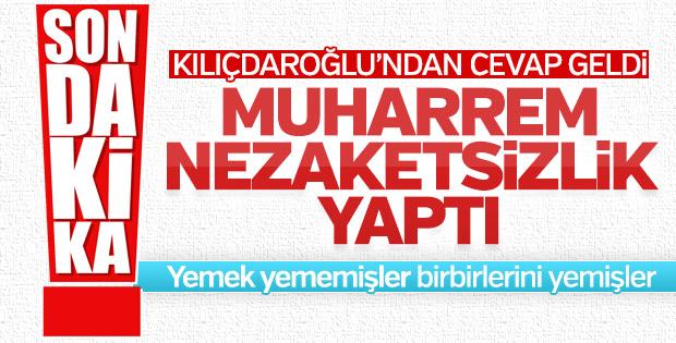 Kılıçdaroğlu'ndan İnce'nin açıklamalarına ilk yorum