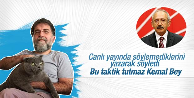 Ahmet Hakan'dan Kılıçdaroğlu'na uyarı