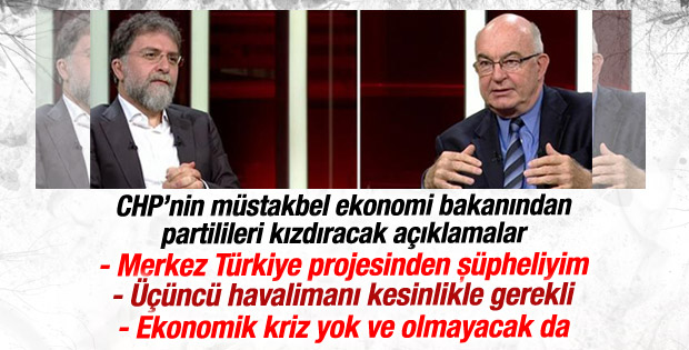 Kemal Derviş'ten CHP'lileri kızdıracak açıklamalar