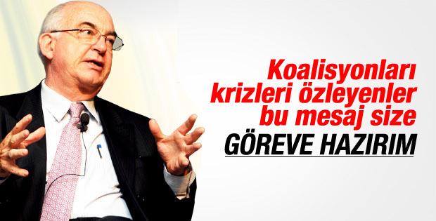 Kemal Derviş vekil değil bakan olmak istiyor