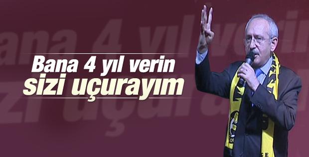Kemal Kılıçdaroğlu halktan 4 yıllık yetki istedi