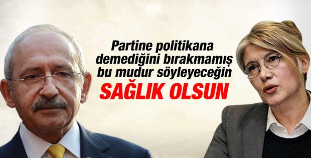 Kılıçdaroğlu'ndan istifa açıklaması: Sağlık olsun