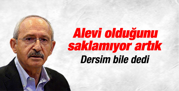 Kemal Kılıçdaroğlu'nun Tunceli mitingi konuşması