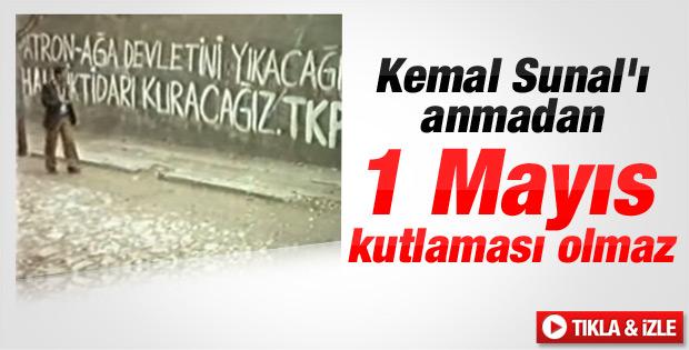 Kemal Sunal Köşeyi Dönen Adam 1 Mayıs sahnesi İZLE