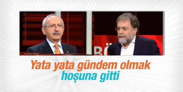 Kılıçdaroğlu'ndan 'önüne yattınız' açıklaması