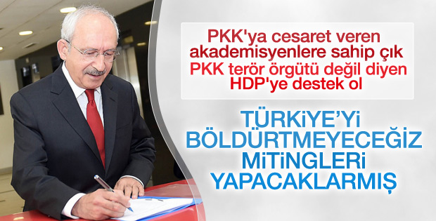 CHP'nin PM toplantısından miting kararı çıktı