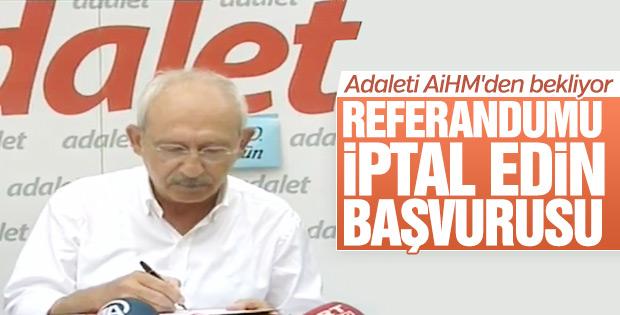 CHP referandumu AİHM'e taşıyor