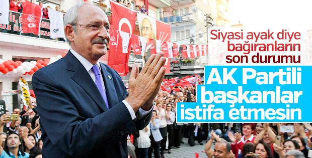 Kılıçdaroğlu belediye başkanlarının istifasına karşı