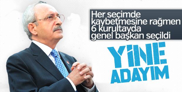 Kemal Kılıçdaroğlu 7. kez aday