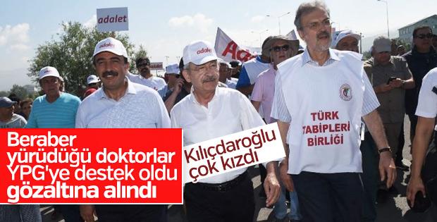 Kemal Kılıçdaroğlu Tabipler Birliği'ne sahip çıktı