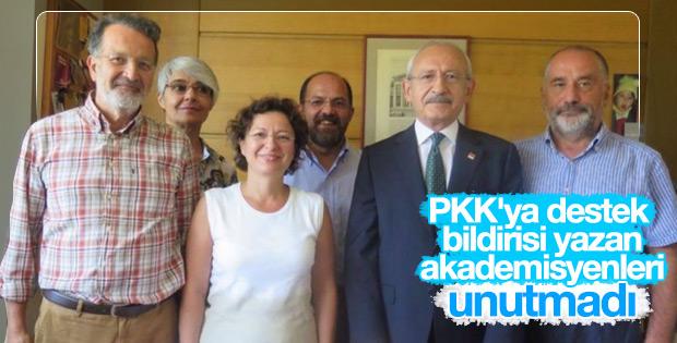 Kılıçdaroğlu'ndan terör sevici akademisyenlere ziyaret