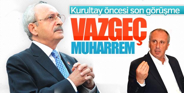 Kemal Kılıçdaroğlu-Muharrem İnce görüşmesi