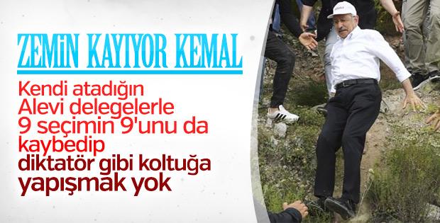 Kemal Kılıçdaroğlu'nun koltuğu sallantıda