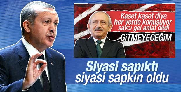 Erdoğan'dan Kılıçdaroğlu'na: Siyasi sapkın