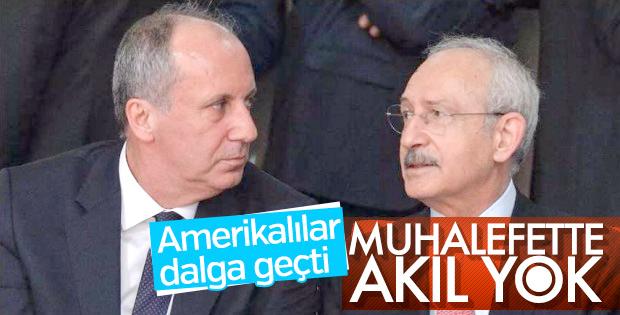 Amerikalılar Türkiye'deki muhalefetten ümidini kesti