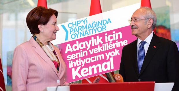 Meral Akşener ile Kemal Kılıçdaroğlu arasında kriz