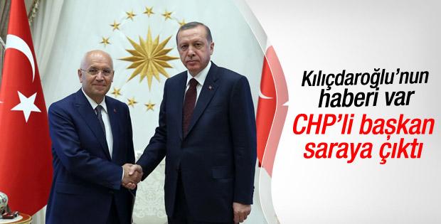 CHP'li başkandan Cumhurbaşkanlığı Külliyesi'ne ziyaret