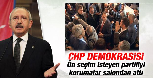 Kılıçdaroğlu ön seçim isteyen partiliye kızdı İZLE