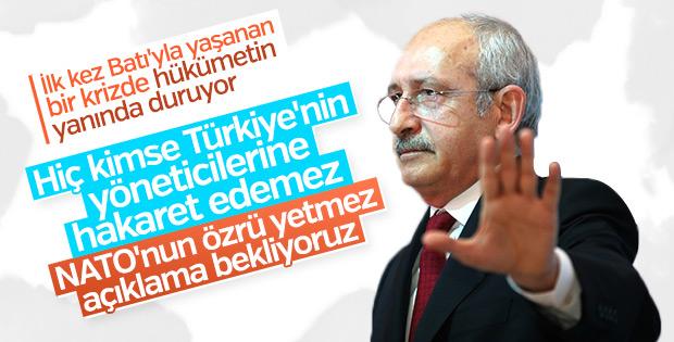 Kemal Kılıçdaroğlu NATO'nun özrünü yeterli bulmadı