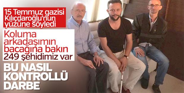 15 Temmuz gazileri CHP'yi yalanladı