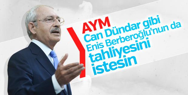 Kılıçdaroğlu tutuklu milletvekili için AYM'ye çağrı yaptı