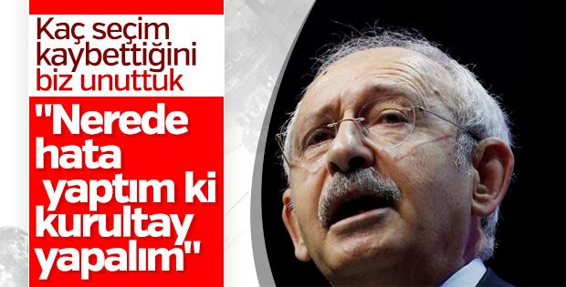 Kemal Kılıçdaroğlu kurultay çağrısı yapmayacak