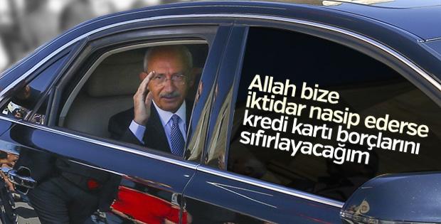 Kılıçdaroğlu'nun faiz ve kredi kartı vaadi