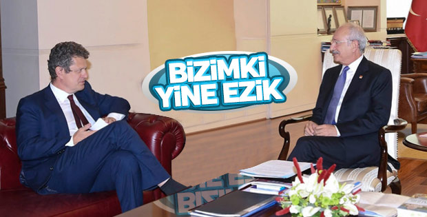 Kılıçdaroğlu İsveç büyükelçisi ile görüştü