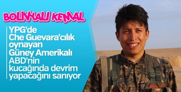 Bolivyalı YPG'li terörist Kemal