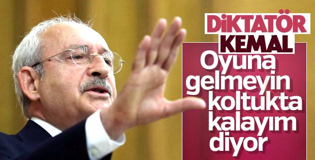 Kılıçdaroğlu: Yerel seçimlere odaklanalım