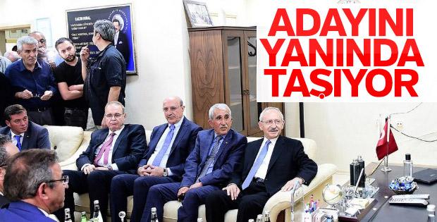 Kemal Kılıçdaroğlu, İlhan Kesici ile sahaya indi