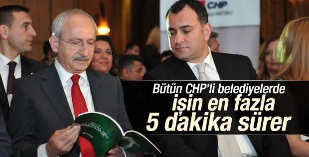 Kılıçdaroğlu'ndan CHP'li belediyeler hızlıdır vurgusu