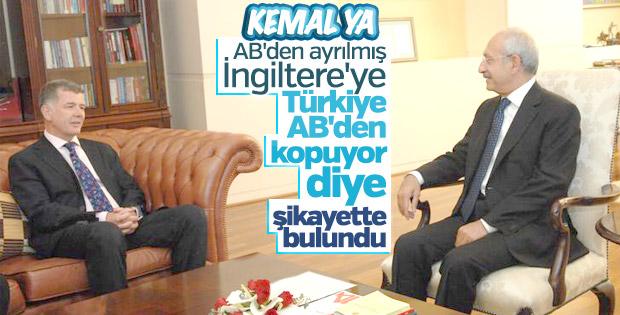 Kılıçdaroğlu Türkiye'yi yanlış kişiye şikayet etti