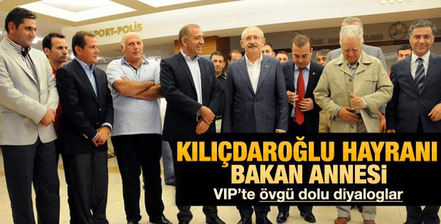 Kemal Kılıçdaroğlu hayranı Bakan annesi