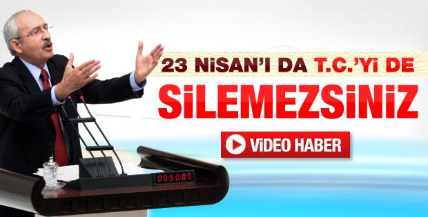 Kemal Kılıçdaroğlu'nun 23 Nisan konuşması