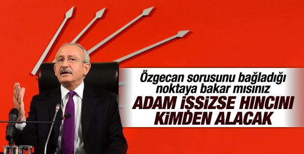 Kılıçdaroğlu Özgecan'ın ölümüyle ilgili konuştu