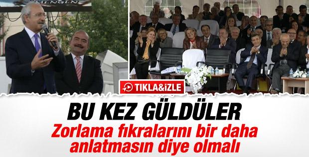 Kemal Kılıçdaroğlu Bolu'daki festivalde fıkra anlattı