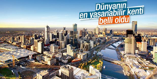 Dünyanın en yaşanabilir kenti Melbourne seçildi